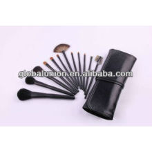 12 pcs de mode maquillage brosse poils set