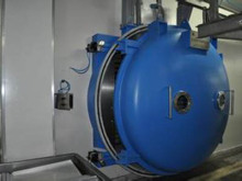 वैक्यूम स्थिर सब्जियों के लिए lyophilization सुखाने मशीन