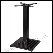 Table de table en fonte noire de table à manger (SP-MTL135)