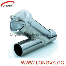 Sanitary Butt Weld Y Type Strainer