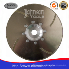 Od230mm Sierra de molienda galvanizada para cerámica