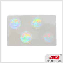 Adhesive Hologram Security Overlay Stickers with Custom Size