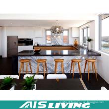 Laca do fabricante dos profissionais com o armário de cozinha de mármore (AIS-K395)