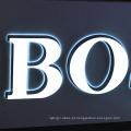 Carta iluminada dianteira do canal / luz do diodo emissor de luz / bulbo de Leb para anunciar ao ar livre