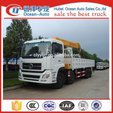 Тяжелый автокран Dongfeng Kinland 8x4 с кран-манипулятором XCMG 16 тонн на продажу