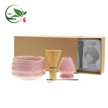 Bambú japonés Matcha batidor, juegos de té Matcha Whisk Chasen
