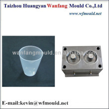 two cavity plastic cup mold making/plastic transparent cup injection mould