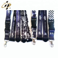 Shuanghua factory OEM polyester custom grosgrain satin printed logo ribbon