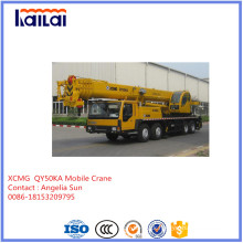 XCMG 50ton Mobile Crane for Hoisting Machinery