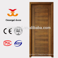CE Groove style bedroom mdf veneer wood door