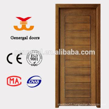 CE Groove style bedroom mdf veneer wood door