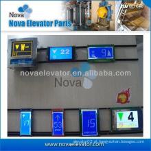 Alta qualidade Elevador Display Board, Display LCD