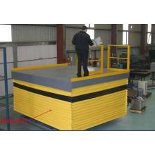 Plataforma de elevação em tesoura à prova de poeira
