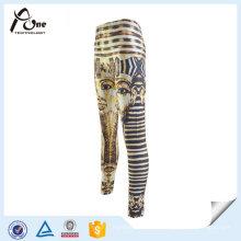 Sublimação Design personalizado impresso calças de ginástica