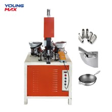 automatic feed rivet cookware handle riveting machine