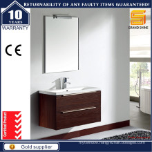 Hot Selling MDF Melamine Bathroom Vanity Set for Project