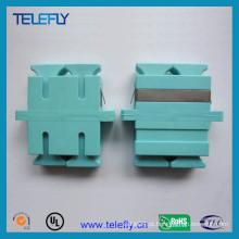 Sc Duplex Om3 adaptador de fibra óptica