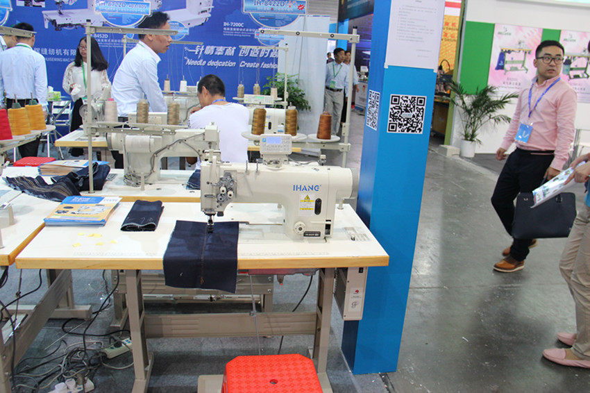 Integrated Single Needle Sewing Machine