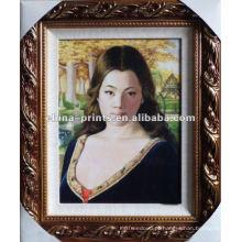 Plump mulher pintura