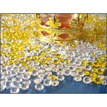 Garniture de vase en acrylique de haute qualité en sac en PVC avec étiquette