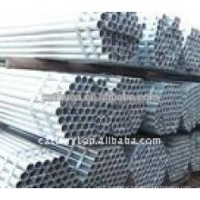 Hot-dip galvanized seamless steel tube
