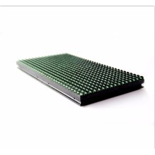 Outdoor single color green advertising DIP led modules
