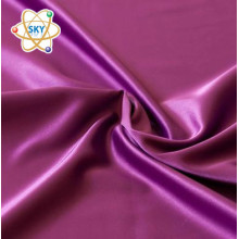 96% Polyester 4% Elasthan Stretch Satin Stoff