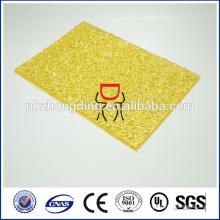 поликарбонат тисненый лист/алмаз тисненый лист/лист выбитый пикокулоном