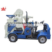 Automatic rice mill machine Diesel engine moving rice mill car