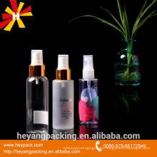 Botella helada para embalaje de agua cosmética