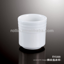 Used in restaurant tea cup, porcelain tea cup