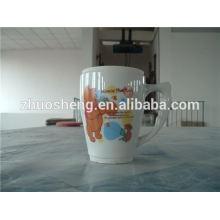 Топ продаж продукции к 2015 году пользовательских керамическая кружка кофе, керамическая кружка