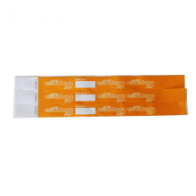 Wholesale dupant paper wristband RFID bracelet