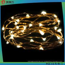 Luces LED de alambre de cobre para la celebración del festival