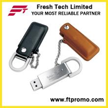 사용자 정의 프로 모션 가죽 스타일의 USB 플래시 드라이브 (D504)