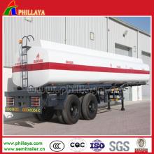 27m3 bitume semi-remorque / réservoir d'asphalte