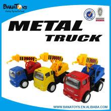 3 cores puxar para trás caminhão de brinquedo para crianças