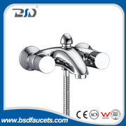 2015new arrival european chrome plated Spray out bath shower faucets