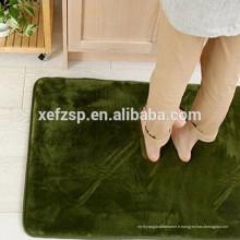 Tapis 100% polyester haute qualité en mousse à mémoire de forme