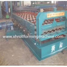 Máquina formadora de rollos de paneles de tablero de contenedores