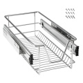 30cm Steel Telescopic Storage Pull Out Wire Basket