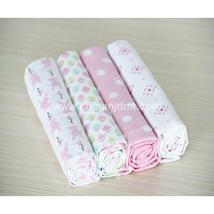 4-pack Receiving Blanket  in PVC bag