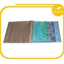 Großhandel Shadda Brokat Nigeria Stil Baumwolle Polyester African Bazin Riche Stoff