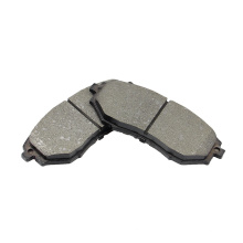 D1078 customizable no noise automotive black metal brake pads assembly manufacture brake pad for SUBARU Outback
