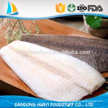 Barato qualidade superior frozen arrowtooth flounder filetes para venda