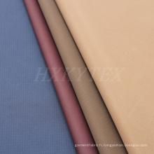 Tissu de polyester Jacquard de deux armures de cordes vérifie pour la veste