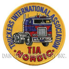 Embroidered Patches of Truckers International Association
