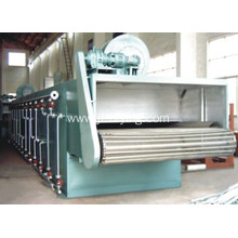 Vegetable mesh belt dryer machine