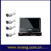 câmara de vídeo digital sem fio do IP WIFI NVR KIT camcorder do dvr com visão nocturna