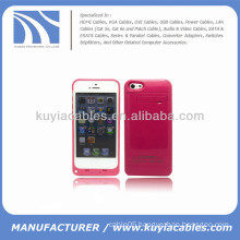 2200mAh External Battery Case for iPhone 5c Red